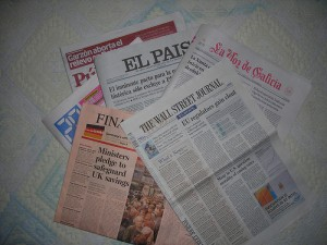 Newspapers 300x225 Madrid, capital of the special advertising section