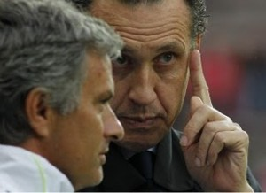 MourinhoValdano 300x218 Real Madrids señor status at play as Mourinho takes control