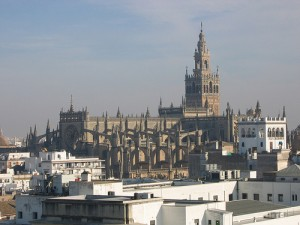 SevillaCathedral1 300x225 Every week is holy week in Seville