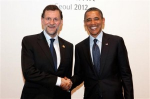 RajoysaludaaBarackObama6 tn496x329 300x198 Five things Mariano Rajoy has learned in his first 100 days