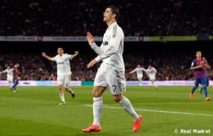 Barcelona   Real Madrid.jpg 300x192 La Liga: Ronaldo banishes Real Madrid's league jinx