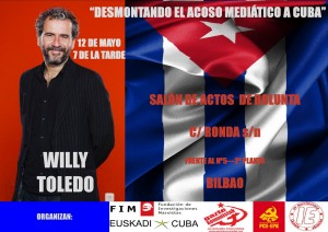 WILLY TOLEDO 300x212 Willy Toledo: The reasons for being a rebel