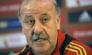 Spanish soccer coach Vicente del Bosque.