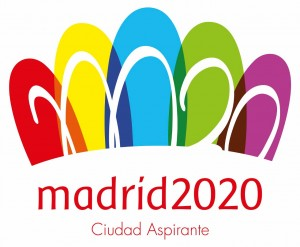 Madrid's 2020 logo.