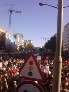 PortugalCrowd22 225x300 Portuguese take to streets against austerity