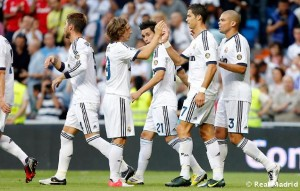 Real Madrid   Granada 300x191 La Liga: Ronaldo's sulk overshadows Real Madrid win