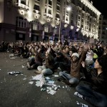 Spanish protests in pictures 7
