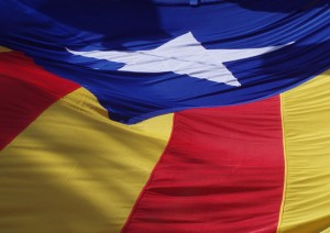 The Catalan independence flag.