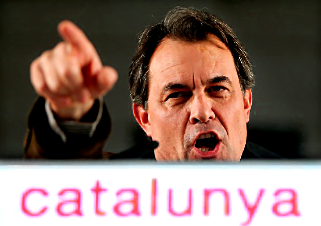 Artur Mas: Riding a wave of pro-independence fervour