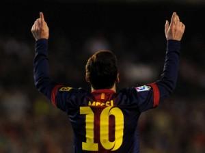 Leo Messi scores again.