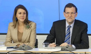 Cospedal and Rajoy