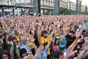 Spain's angry youth.