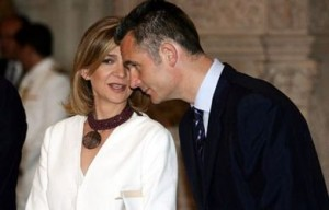 Iñakia Urdangarin and Princess Cristina