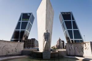 Madrid's KIO Towers