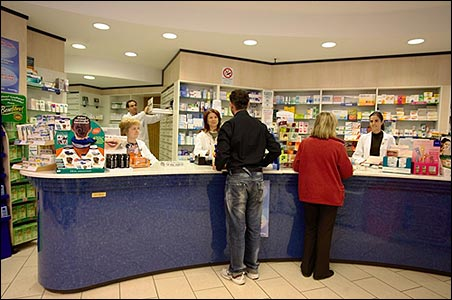 Spanish pharmacy