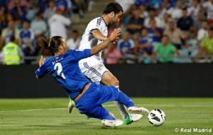 Gonzalo Higuaín scored for Real Madrid against Getafe.